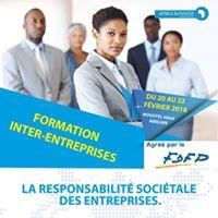 Formation sur la Responsabilit Socitale des Entreprises