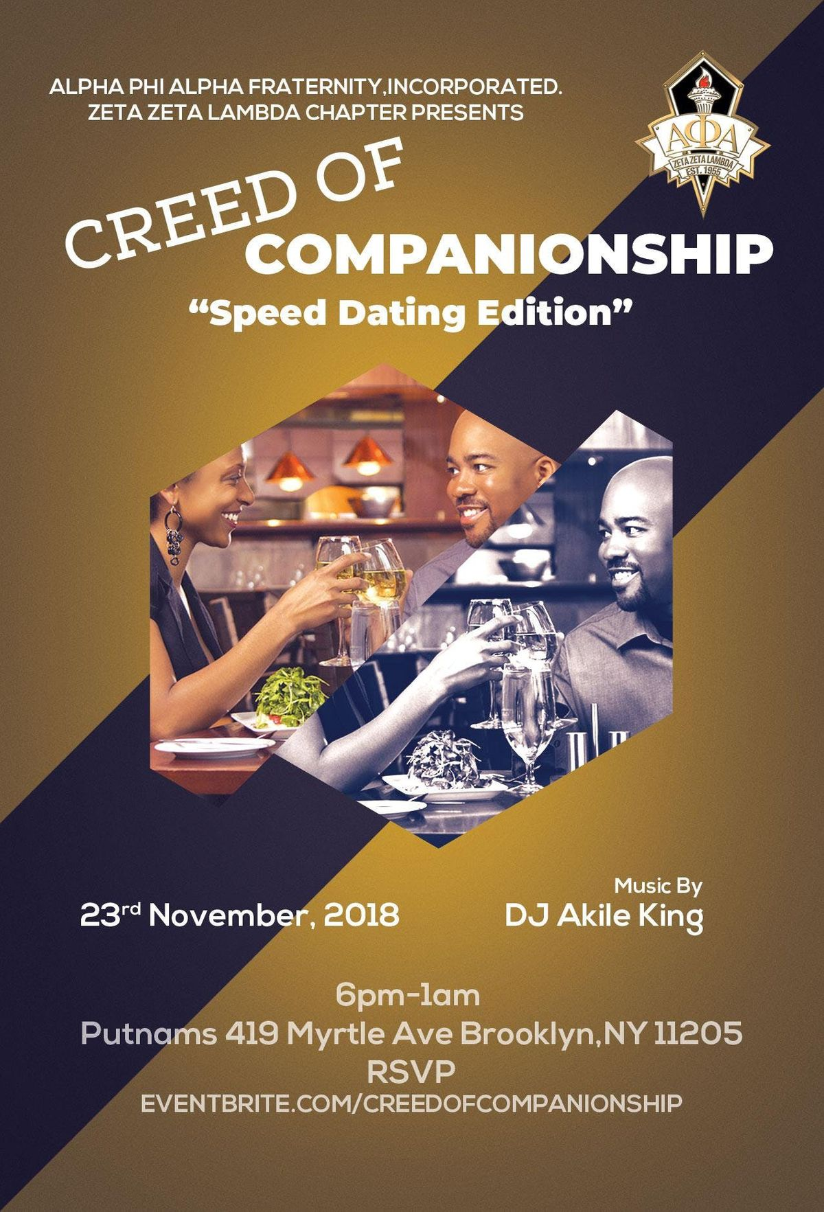 The Creed of Companionship - Speed Dating Edition