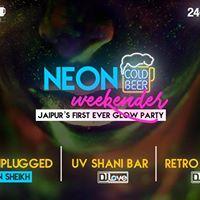 Neon Weekender - Jaipurs First Glow Party
