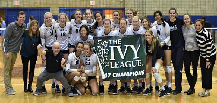 Ivy League Volleyball Playoff Yale vs. Princeton
