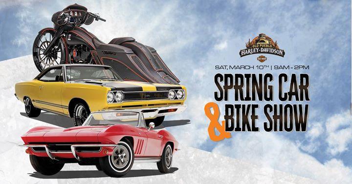 Spring Car Bike Show At Old Pueblo HarleyDavidson Tucson - Car and bike show
