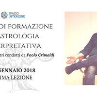 Corso di Formazione in Astrologia Interpretativa con P. Crimaldi