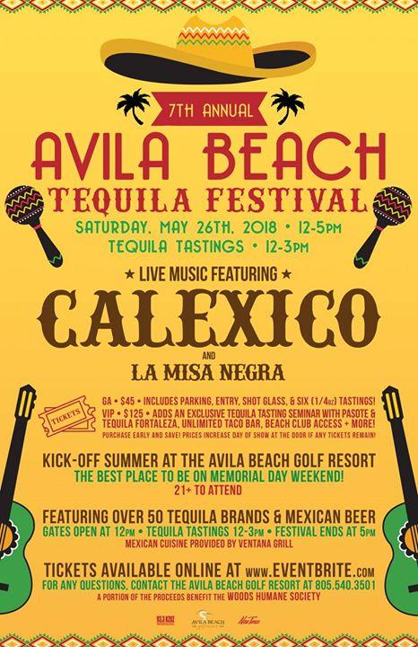 Avila Beach Tequila Festival