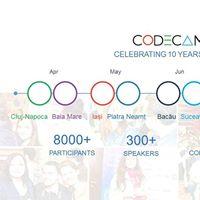 Codecamp Bacau 10 Iunie 2017