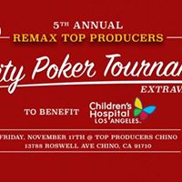5th Annual REMAX Top Producers Poker Charity Event