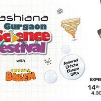 Ashiana gurgaon science festival at gurgaon gurgaon for Ashiana fine indian cuisine