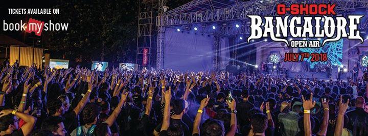 Bangalore Open Air 2018
