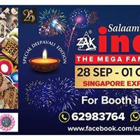 Zak Salaam India Expo 21st Edition Deepavali Special