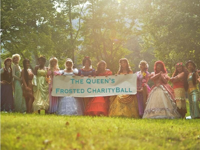 The Queens Frosted Charity Ball