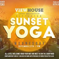 Sunset Yoga On The Green