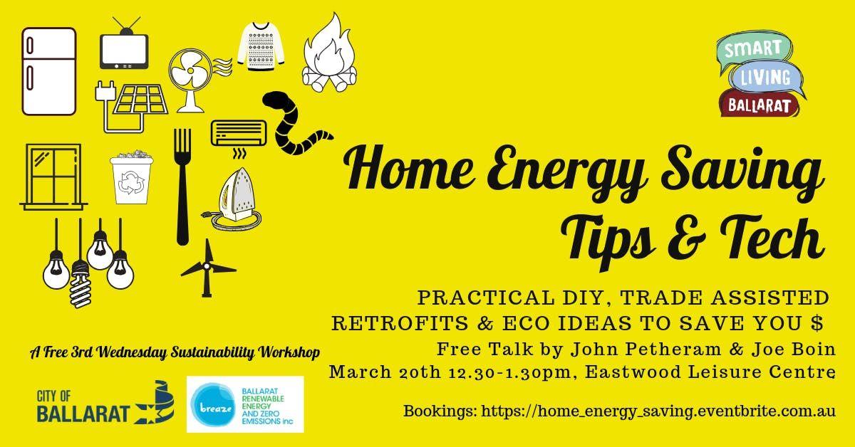 Home Energy Saving Tips & Tech DIY Retrofitting Eco Ideas Breaze Smart Living Ballarat