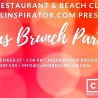 Claro Restaurant X_Mas Brunch Party
