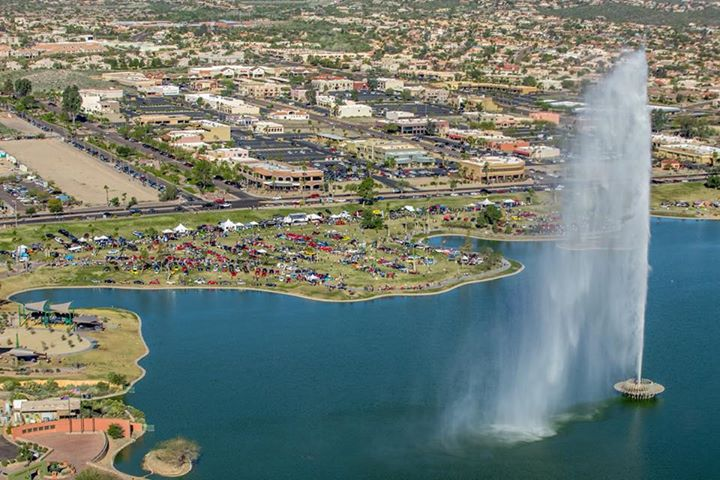 Th Annual Concours In The Hills Auto Show At Fountain Park - Fountain hills car show