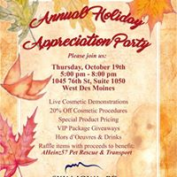 Skin Iowa Annual Holiday Appreciation Party