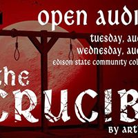Open Auditions for The Crucible by Arthur Miller