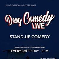 Dang Comedy LIVE with Monty Franklin Ben Roy Papp Johnson &amp more