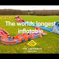 10 Tickets Inflatable Labyrinth Challenge Edinburgh