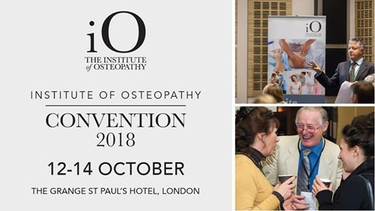 Institute of Osteopathy Convention 2018