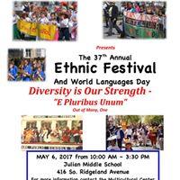 The 37th Annual Ethnic Festival