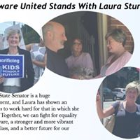 Canvassing for Laura Sturgeon with Delaware United