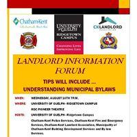 Landlord Information Forum