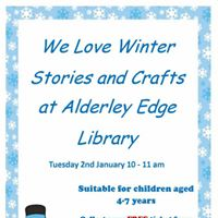 We Love Winter Stories and Crafts Session