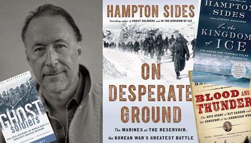 THE KOREAN WAR: with HAMPTON SIDES at Magic City Books, Tulsa