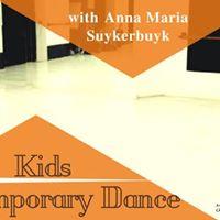 Kids Contemporary Dance course -