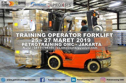 Training Operator Forklift