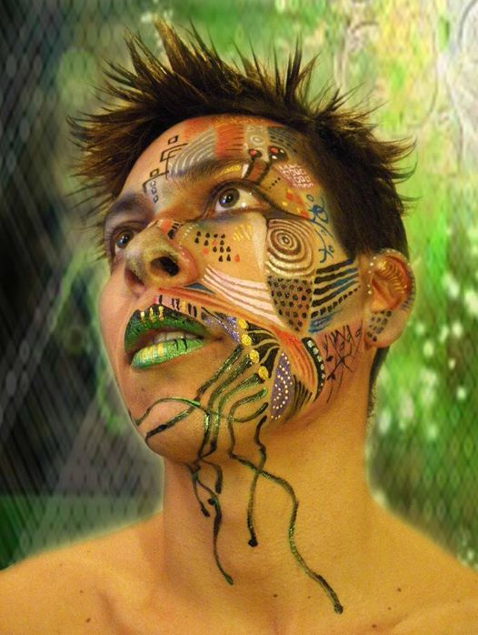 Artistic face painting course