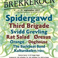 Brekkerock 1. og 2. september 2017
