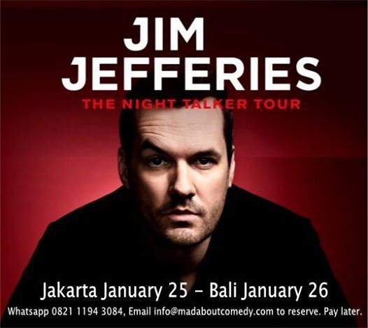 Jim Jefferies LIVE in Jakarta