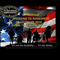 6th Annual Weekend to Remember
