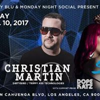 Sydney Blu and MNS present The Blu Party feat Christian Martin