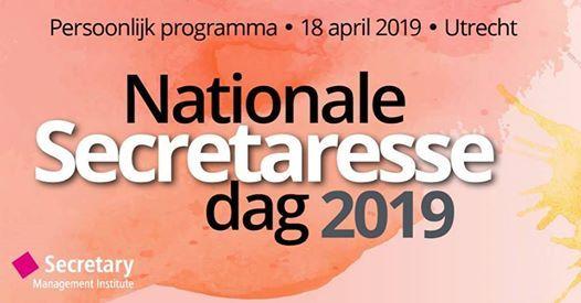 Nationale Secretaresse Dag 19