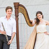 Klangwelten zur Entspannung mit Harfe und Oboe in der Salzgrotte