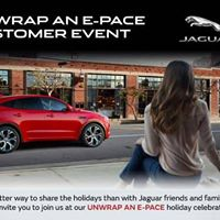 Youre Invited to experience the all-new Jaguar E-Pace