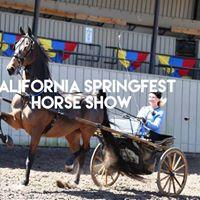 California Springfest Horse Show