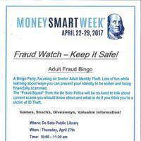 Fraud Bingo for Seniors
