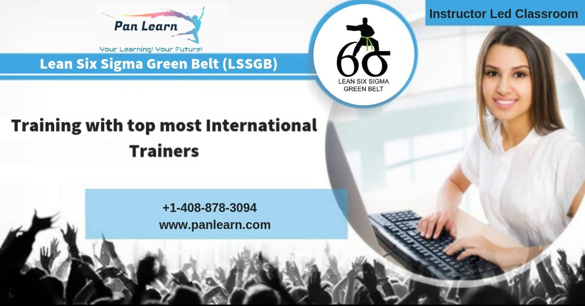 Lean Six Sigma Green Belt (LSSGB) Classroom Training In Columbia SC