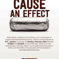 Chipotle Fundraiser by Kellstadt Marketing Group