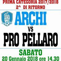 Archi Calcio - Pro Pellaro