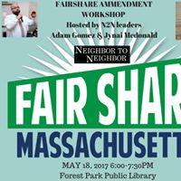 Fairshare Ammendment Workshop