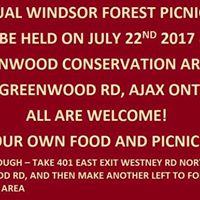 Canada Windsor Forest Picnic