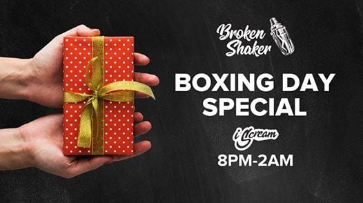 Broken Shaker Boxing Day Special