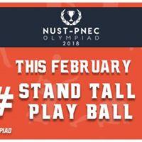 NUST - PNEC Olympiad 2018