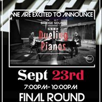 Dueling Pianos September 23