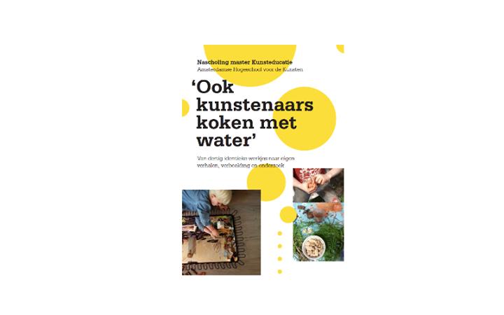 Ook kunstenaars koken met water - Nacholings cursus bij Master Kunsteducati