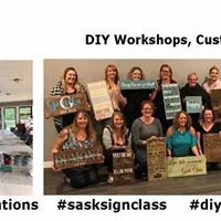 Private Sign Workshop - Tyra G