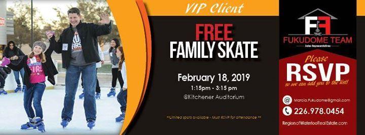 Client Perks - Family Day Skate